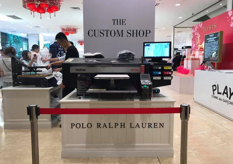 Polo Ralph Lauren x YR Live at Takashimaya Singapore 2019