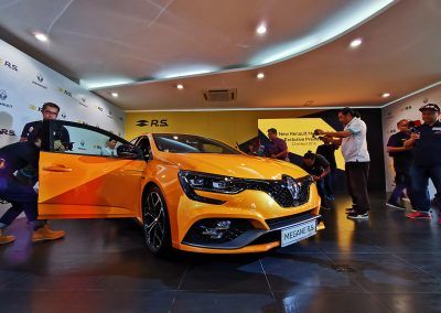 Renault Megane RS Preview at Renault HQ, PJ 2019